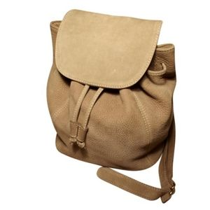 COACH Rare Vintage Sonoma Nubuc Leather Backpack
